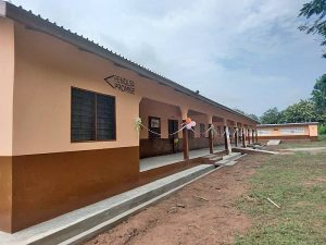 Pencils of Promise, Gbefi Community commission new classroom block