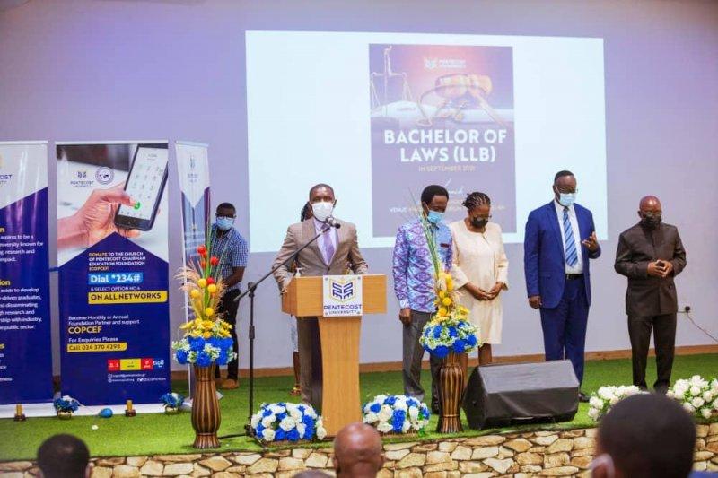 Pentecost University launches bachelor of law programme