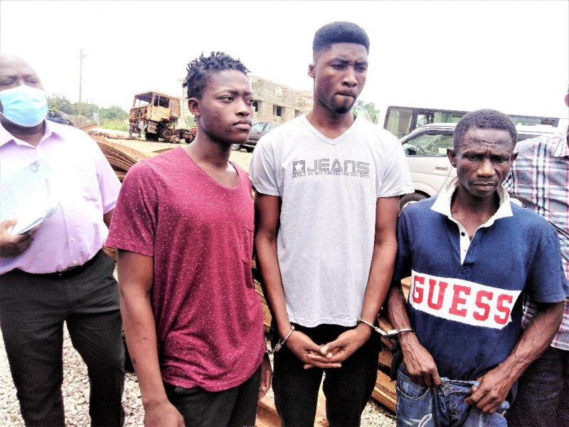 A/R: Railway line stealing syndicate busted, two jailed as four face trial