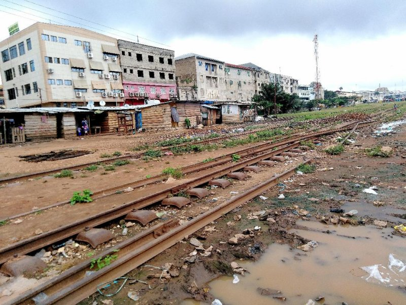 Government of Ghana overwhelmed by mass theft of railway lines