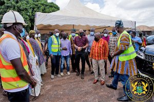 Tamale Interchange 80% complete; Tamale-Daboya Road to be completed in 2023