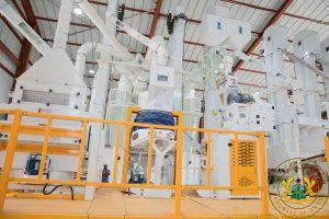 1D1F: President Akufo-Addo commissions GHc7.3 million Savelugu Rice Factory