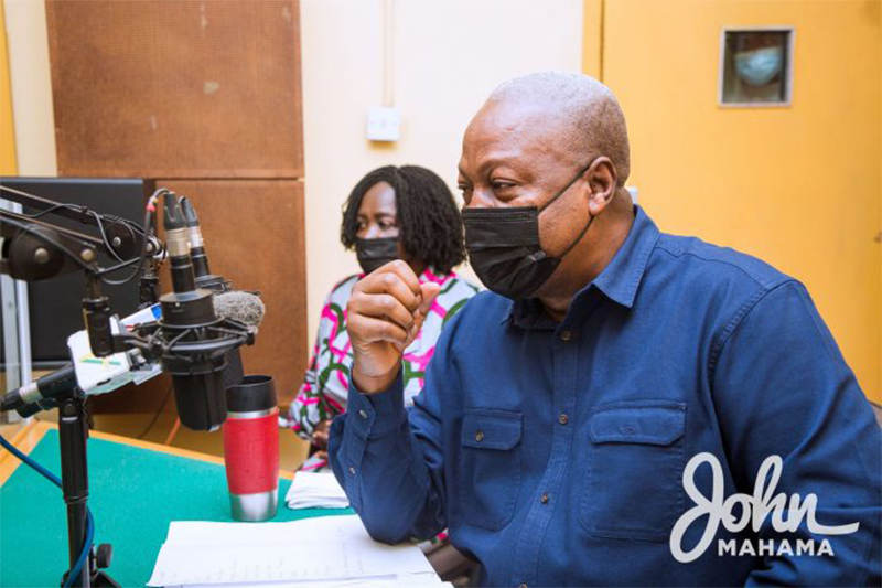 Government's Agenda 111 an afterthought….Former President Mahama