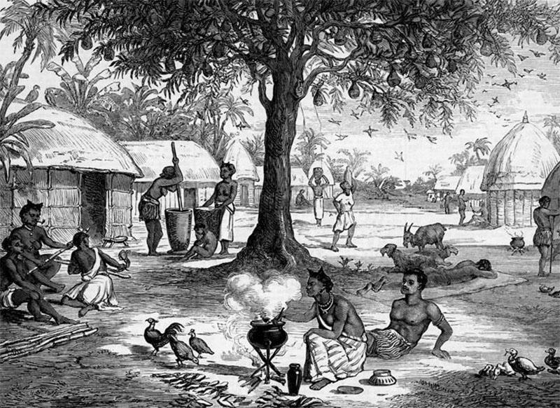 Village Life of Asantes