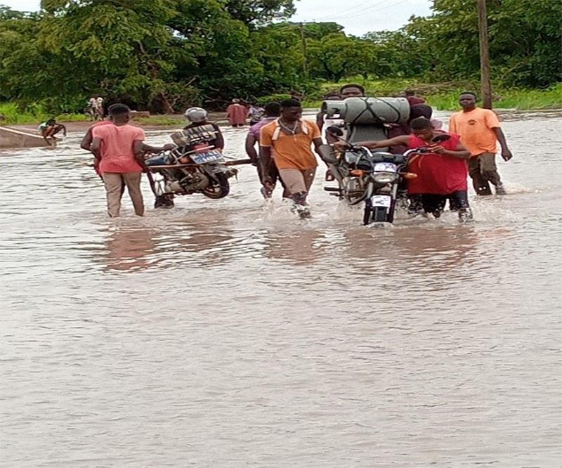 Residents along White Volta demand food supplies