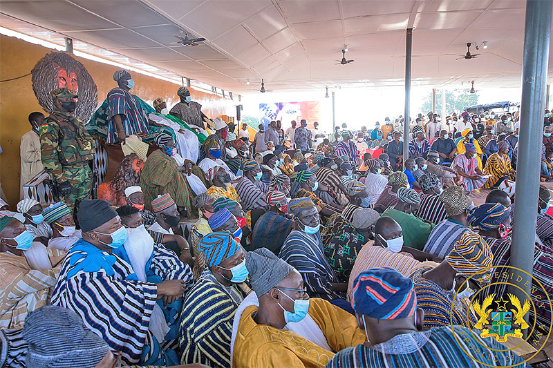 """""""You have brought peace to Dagbon, we will support you"""" – Ya-Naa to President Akufo-Addo"""