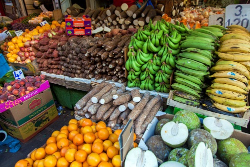 Competitive foodstuff price in Tema market