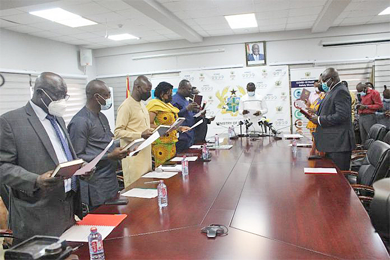 Deputy Minister of Finance inaugurates PIAC and PPA Boards