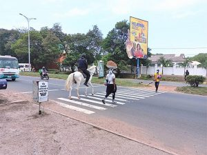 Read more about the article Horse policing – the new dimension of Ghana police