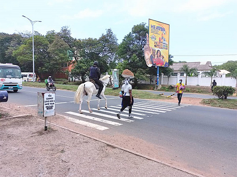 You are currently viewing Horse policing – the new dimension of Ghana police