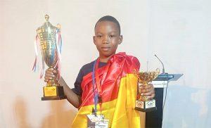 Angel Ankamah Arhin: UCC Basic School student wins 3rd in World Spelling B Contest in Dubai