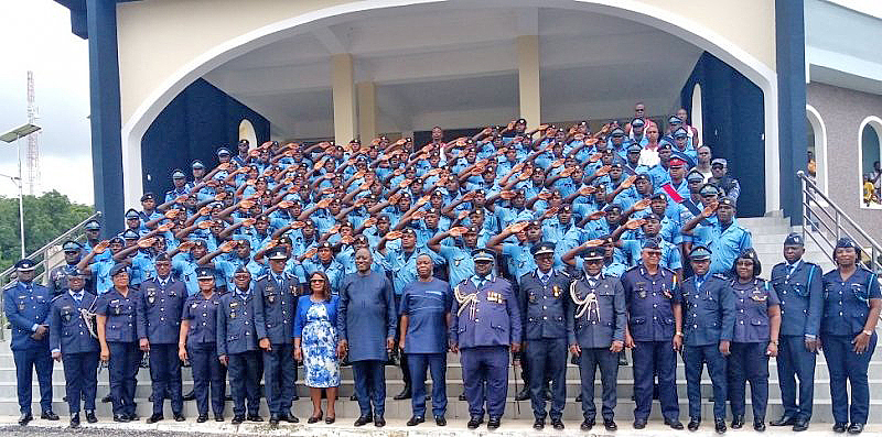 Newly commissioned Customs officers urged to take revenue-collection seriously