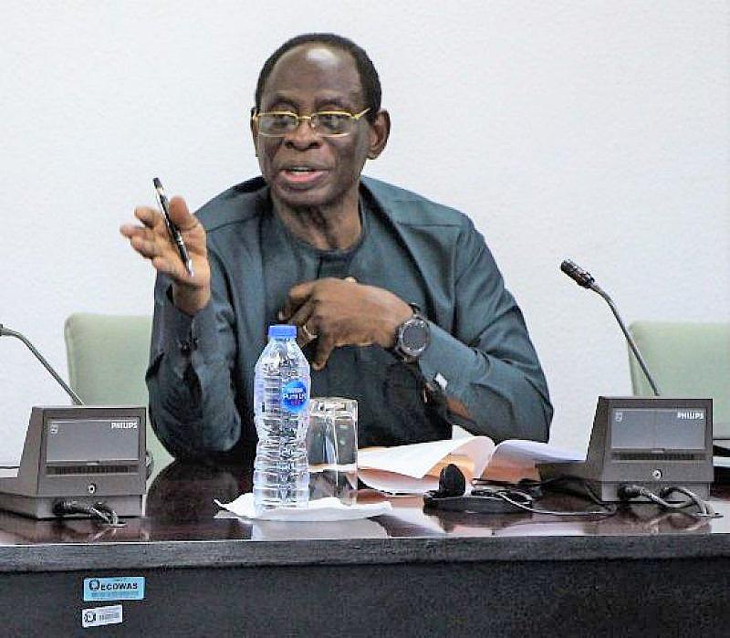 Dr Kofi Konadu Apraku hails ECOWAS Vision 2050 document