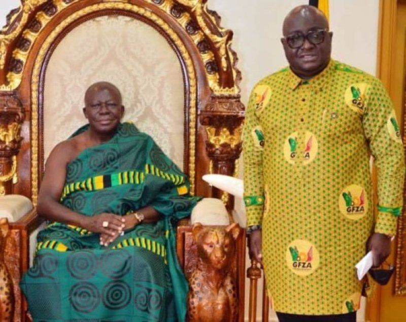 You are currently viewing A/R: Free Zones Authority presents industrial development plan to Ashantehene