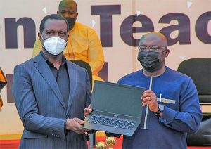 """Read more about the article GNAT commends government for """"one teacher, one laptop"""" initiative"""