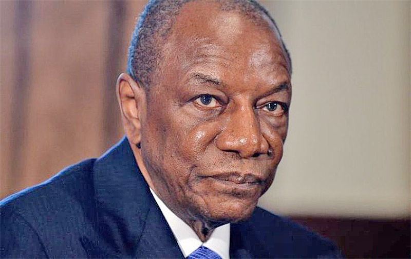 Alpha Condé: Guinea's ousted president in good health – ECOWAS says