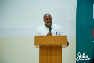 Read more about the article Seek equitable ways of managing economy- Former President Mahama to Gov't