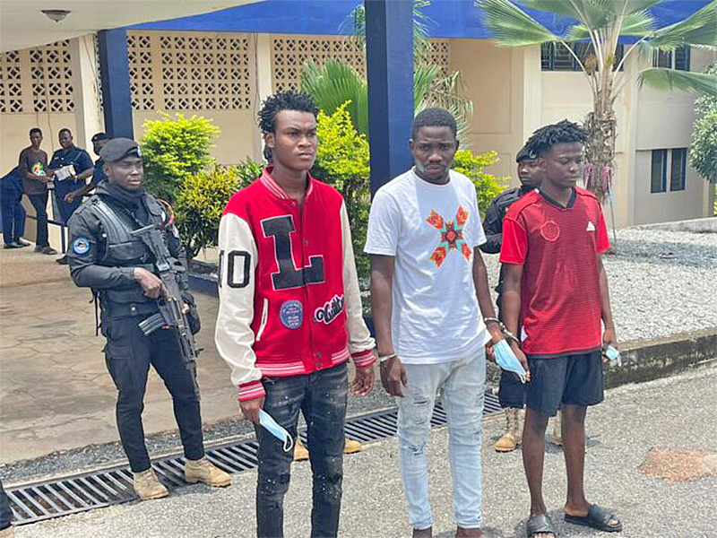 Volta Regional Police Command arrests 3 persons involved in recruitment scams