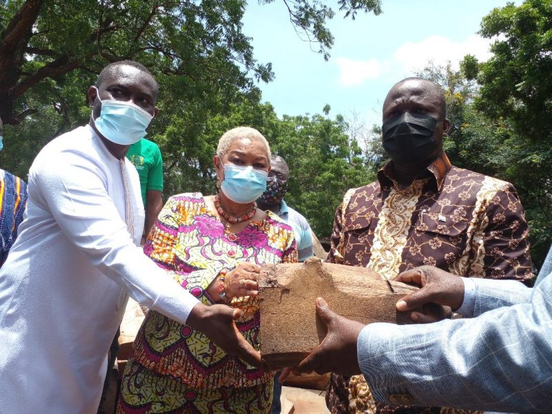 You are currently viewing Gov't hands over seized rosewood to Trustees of the National Cathedral