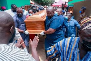 Veep's mother laid to rest at Kperiga