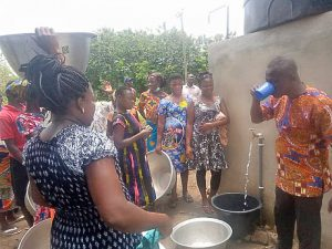 Read more about the article Adetsewui, Kpodzivi communities gets mechanised borehole water facility