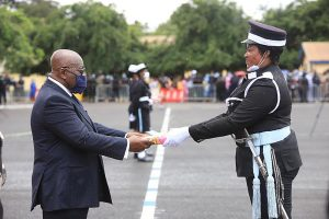 Read more about the article Fighting Crime: President urges Police to gain public trust with virtuous conduct