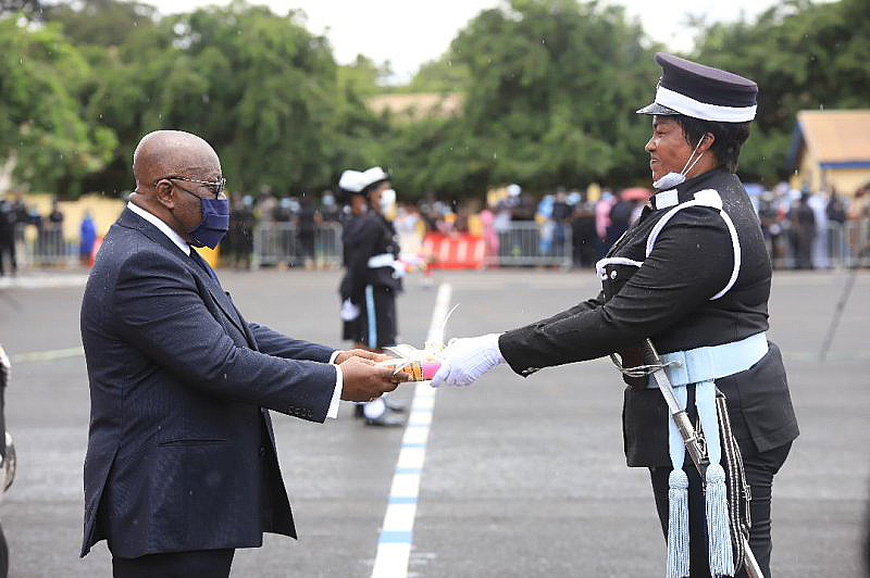 You are currently viewing Fighting Crime: President urges Police to gain public trust with virtuous conduct