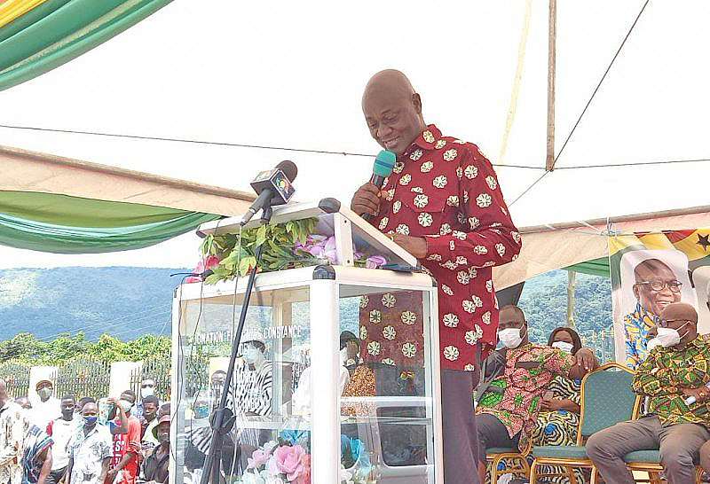 You are currently viewing Creation of Oti, Guan is a fulfilment of the people's heart desire – Dan Botwe