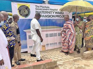 Read more about the article Otumfuo Foundation moves to promote safe delivery at Manhyia Hospital