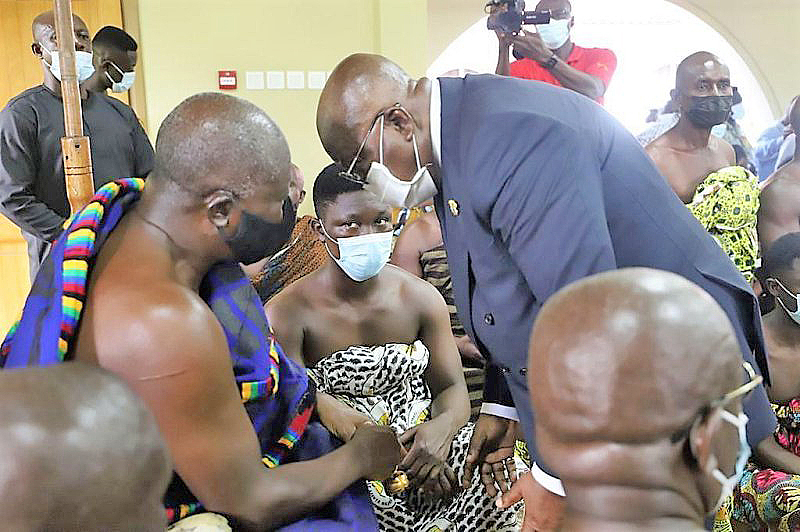 You are currently viewing Leadership is about sacrifices-Asantehene tells President