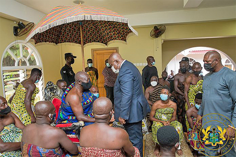 """You are currently viewing """"I am grateful to Asanteman for its unflinching support"""" – President Akufo-Addo"""