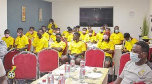 """Read more about the article """"Beat Nigeria for Afcon ticket"""" – GFA President to Black Queens"""