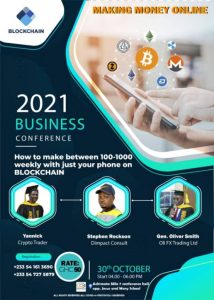 Read more about the article Crypto conference comes off October 30