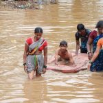 India floods: At least 24 killed as rescuers step up efforts