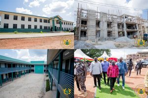 Read more about the article Creative Arts SHS, J.A. Kufuor SHS & Bosomtwe Girls SHS Ready For Use In 2022