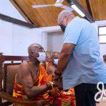 Mahama in Central Region, still pushing for electoral reforms