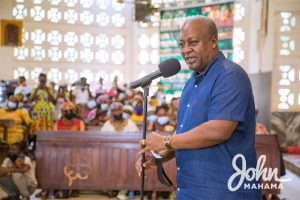 Read more about the article Don't obstruct anyone from contesting as flagbearer – Mahama to NDC executives