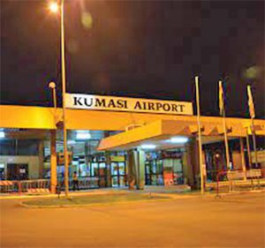 Read more about the article Kumasi Int'l airport 77% complete; set for June 2022 completion