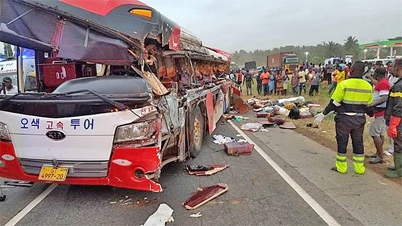 You are currently viewing 11,858 accidents claim 2,126 lives from Jan – Sept 2021