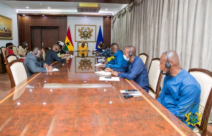 You are currently viewing President Akufu Addo receives Guinean military delegation