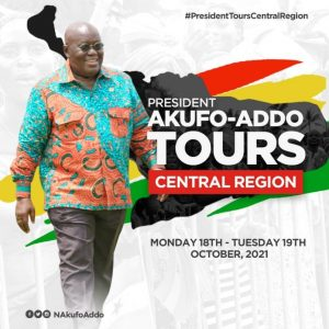 Read more about the article President Akufo-Addo tours Central Region today